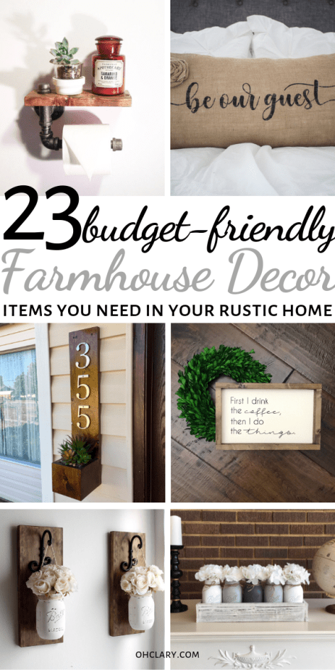 23 Cheap Farmhouse Decor Items Where To Buy Farmhouse Decor On A Budget Online Farmhouse Decor Cheap Farmhouse Decor Amazon Farmhouse Decor