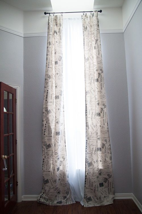 Sewing curtains for beginners