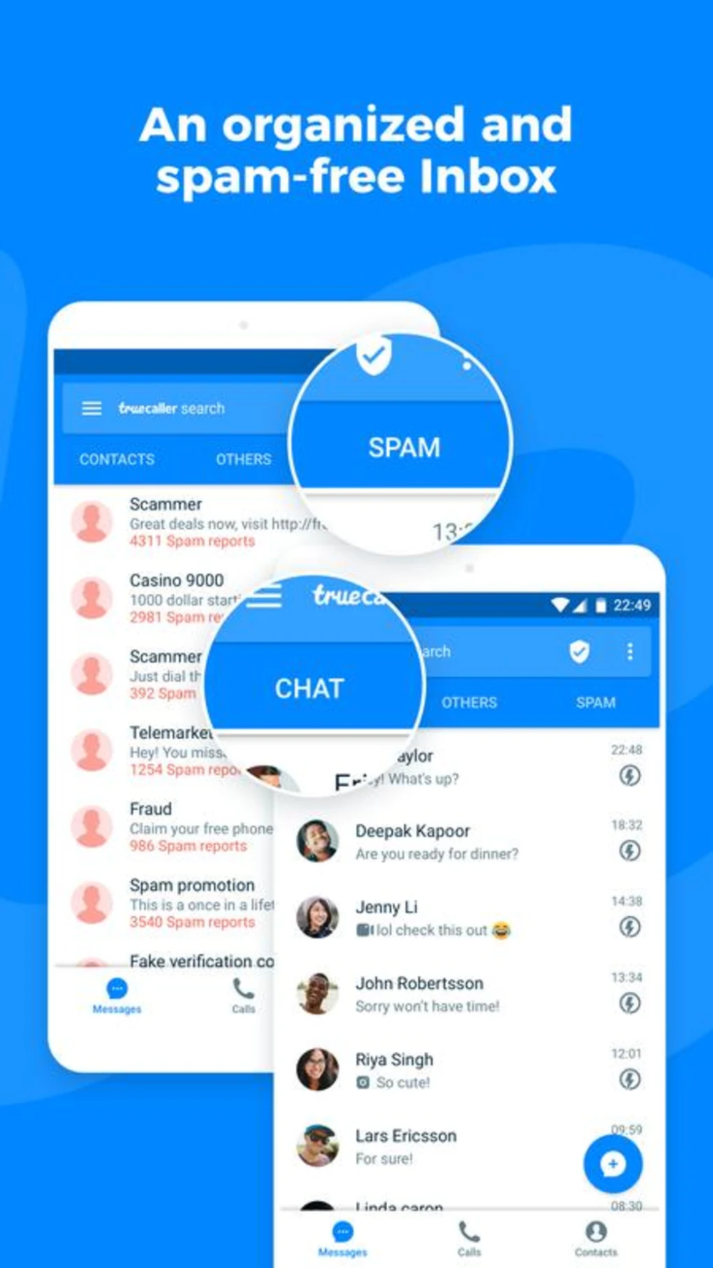 Truecaller (With images) Caller id, Wellness design, Sms