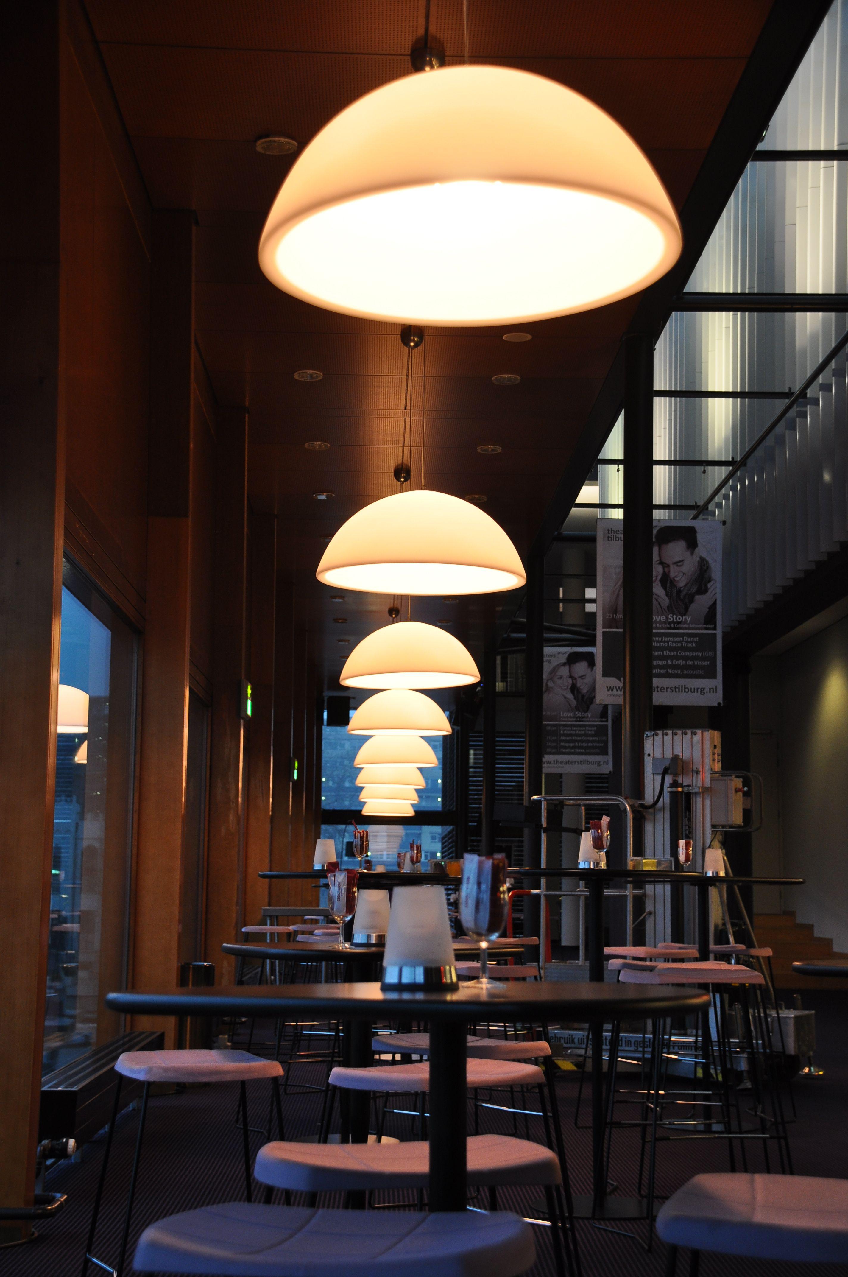 kayradome in de lounge van theater tilburg theaterlight sfeerlicht kayradome verlichting