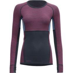Photo of Devold Tuvegga Sport Air Woman Shirt | S, L | Farbblock / Blau / Lila | Ladies DevoldDevold