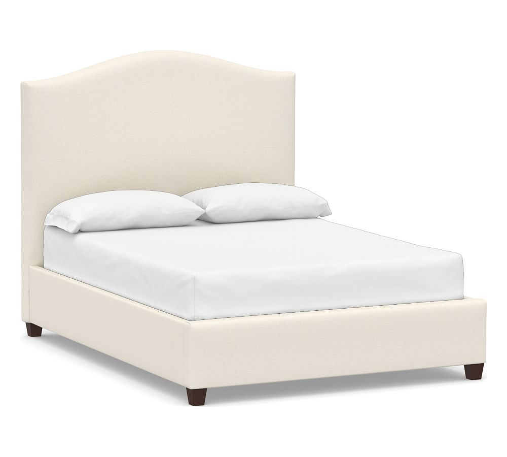 Raleigh Upholstered Curved Tall Bed In 2020 Headboards For Beds