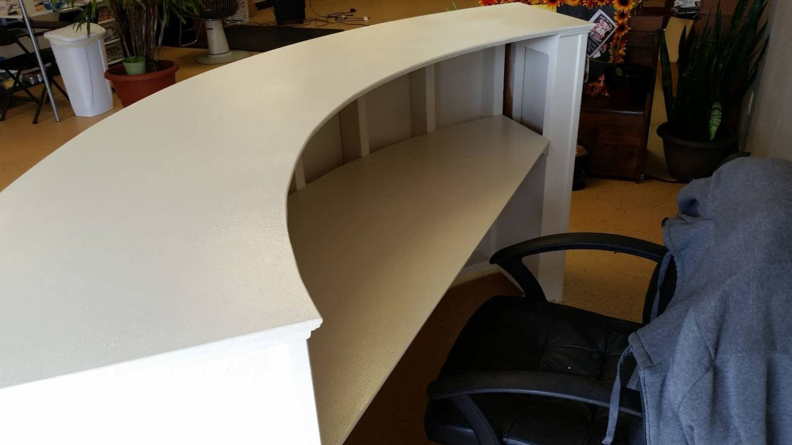 Half Round Office Table Modern Home Office Furniture Check - Half round office table