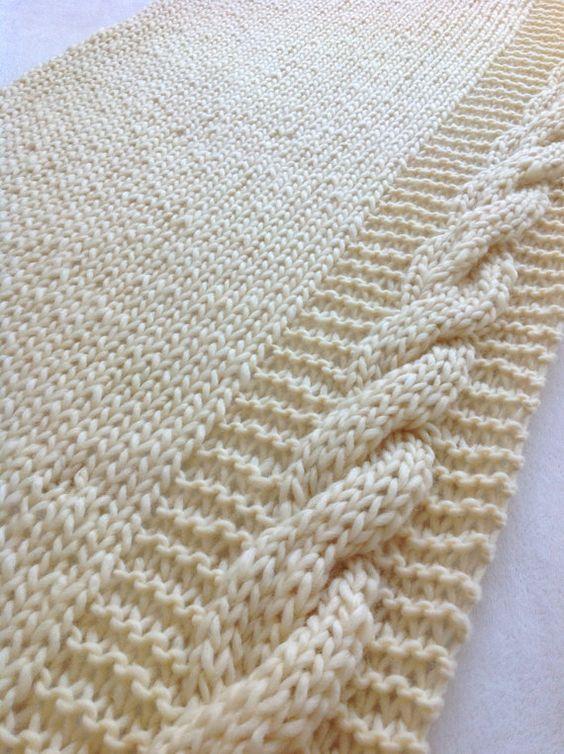 Knitting Cable On Garter Stitch Not Reverse Stocking Stitch
