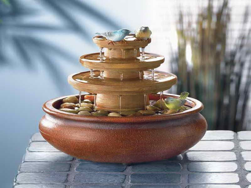 Tabletop Water Fountain Part - 24: Beautiful Tabletop Water Fountains: Small Tabletop Water Fountains U2013 Vissbiz