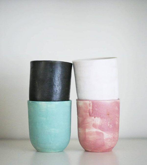 #ceramics #céramique #potteryart #espressocup #colours #clayart #mug #coffee #etsyshop #home #tableware #functionalart #modernceramics #coffeelovers #potteryforall #design #contemporarycraft #art #coffeetime #pastelcolours #loveclay #makergonnamake #contemporarypottery #handpainted #painting#keramik #buysmall #slowliving #simpleliving #julia_lu_studio