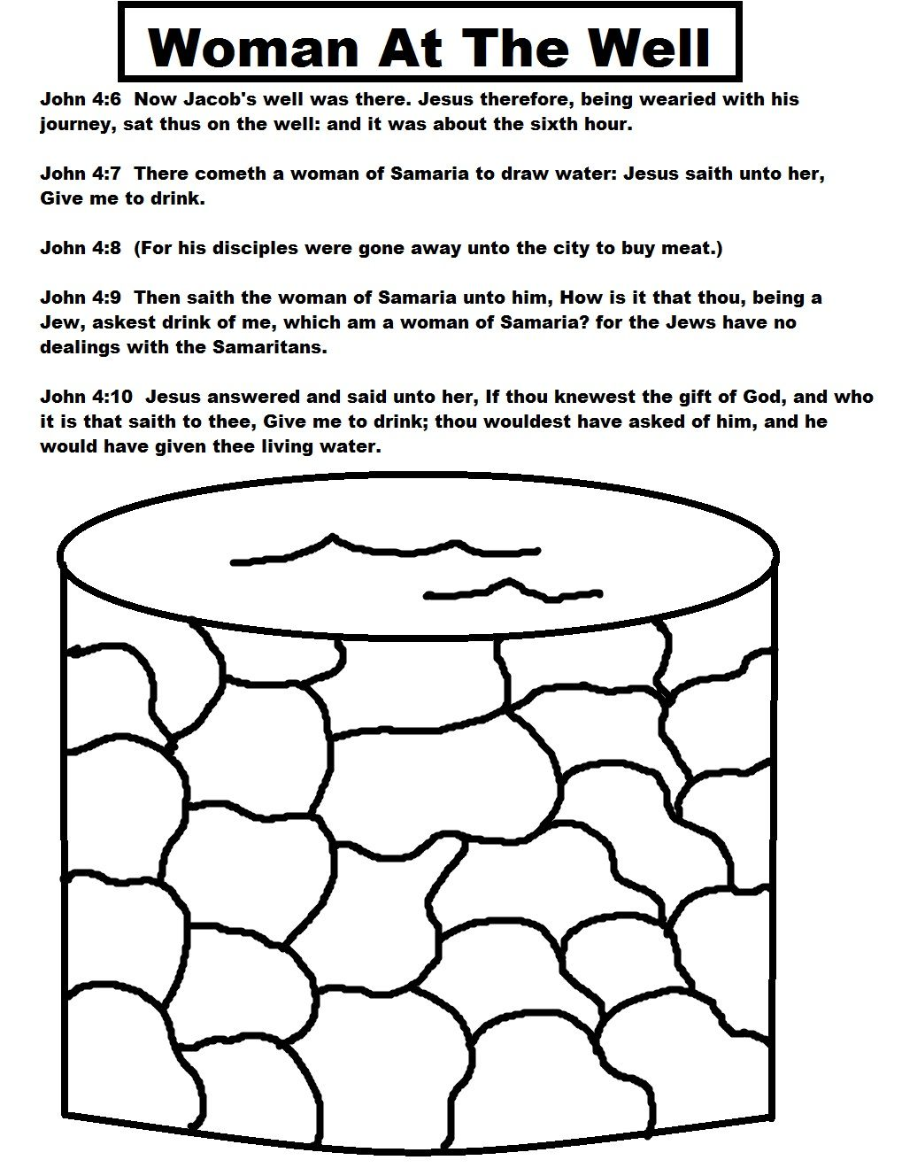 Christian Coloring Page Woman Sunday School Lessons Sunday
