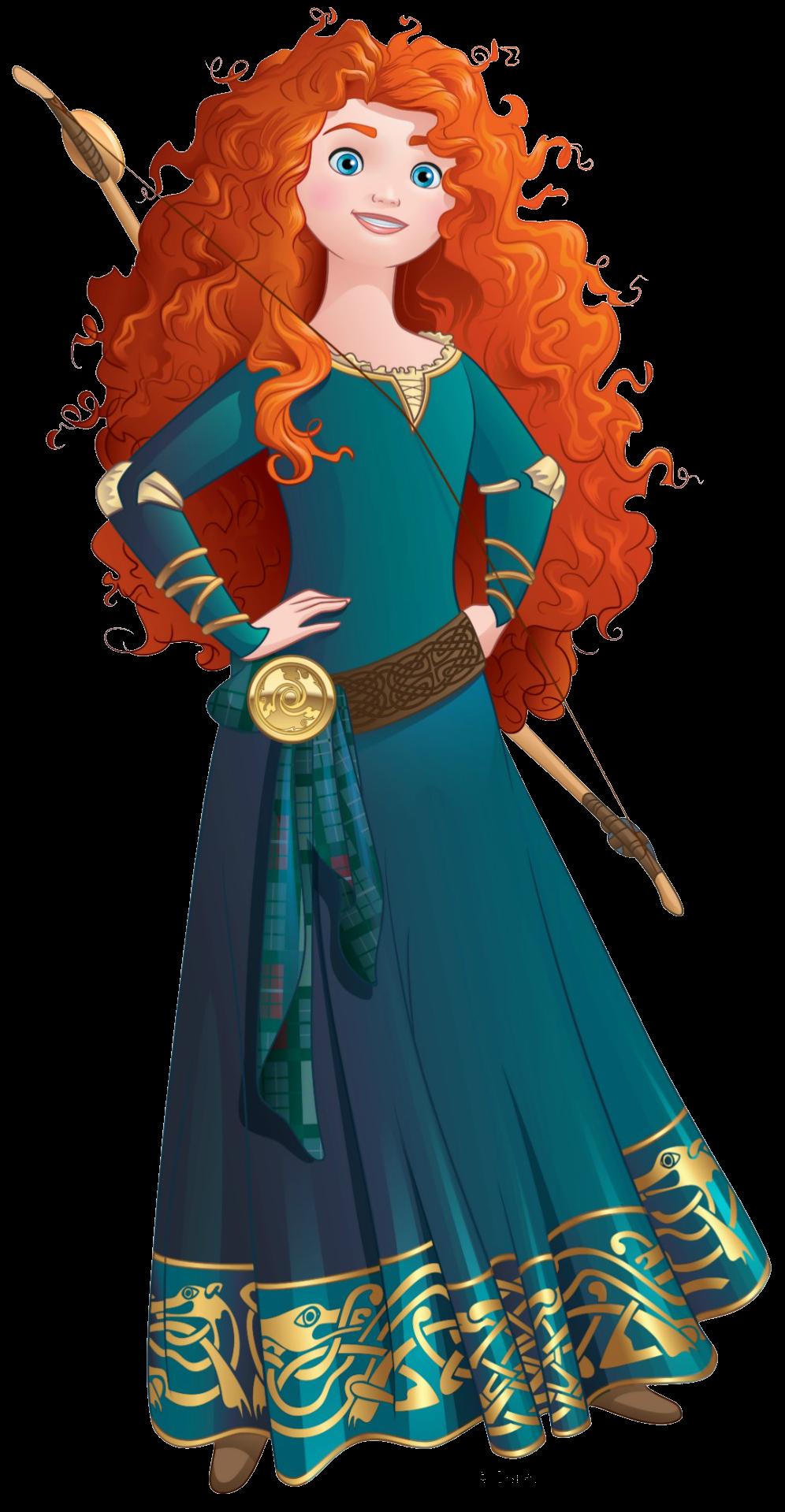 Merida Brave- Disney Official Princesses Princess