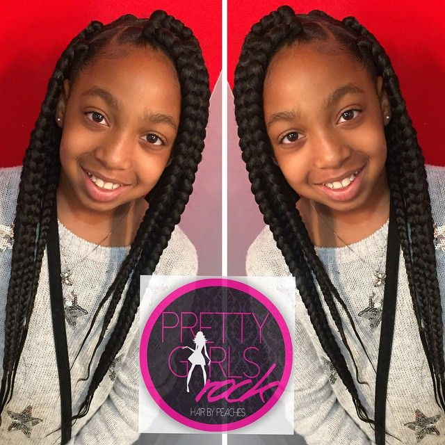 Instagram Photo By Pretty Girls Rock Jun 13 2015 At 1 17pm Utc Little Girl Braids Kid Braid Styles Kids Box Braids