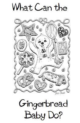 More Gingerbread Xmas Freebies Gingerbread Baby Baby Coloring Pages Coloring Pages