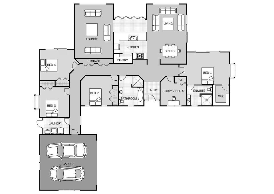 Waikawa Signature Homes House Plans Australia House Design House Plans