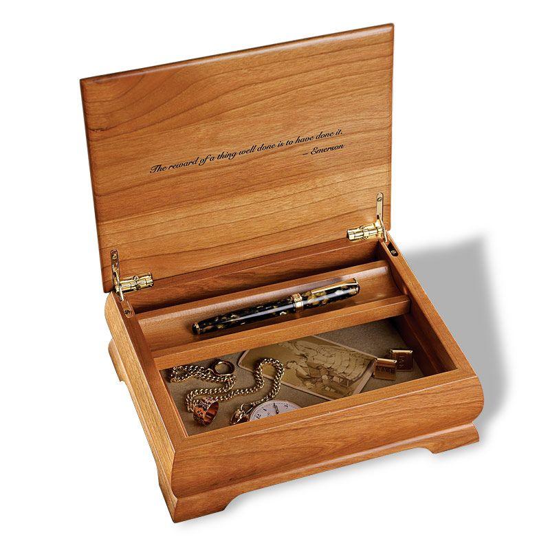 Commemorative Box Jewelry Box Personalized Box Keepsake Box