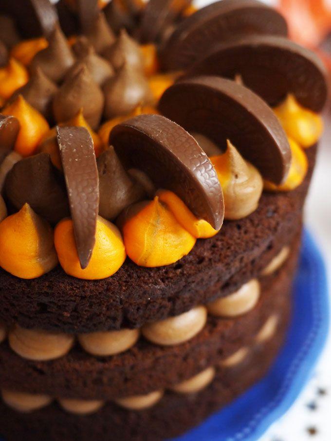 Chocolate Orange Cake Recipe Favorite Recipes Pinterest Tort