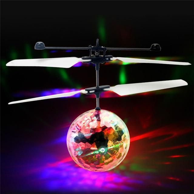 Colorful Flying Ball Helicopter Rc Flying Ball Drone Helicopter Ball  Built In Shinning Led