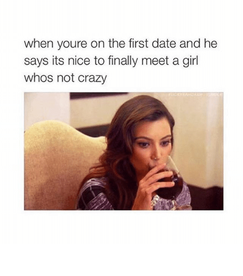 20 Funny Memes About First Date Disasters - SayingImages