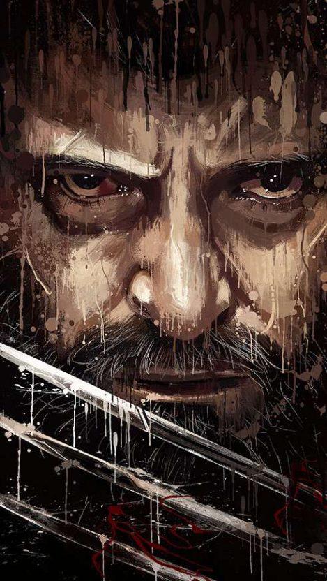 Logan Wolverine Art iPhone Wallpaper Free GetintoPik