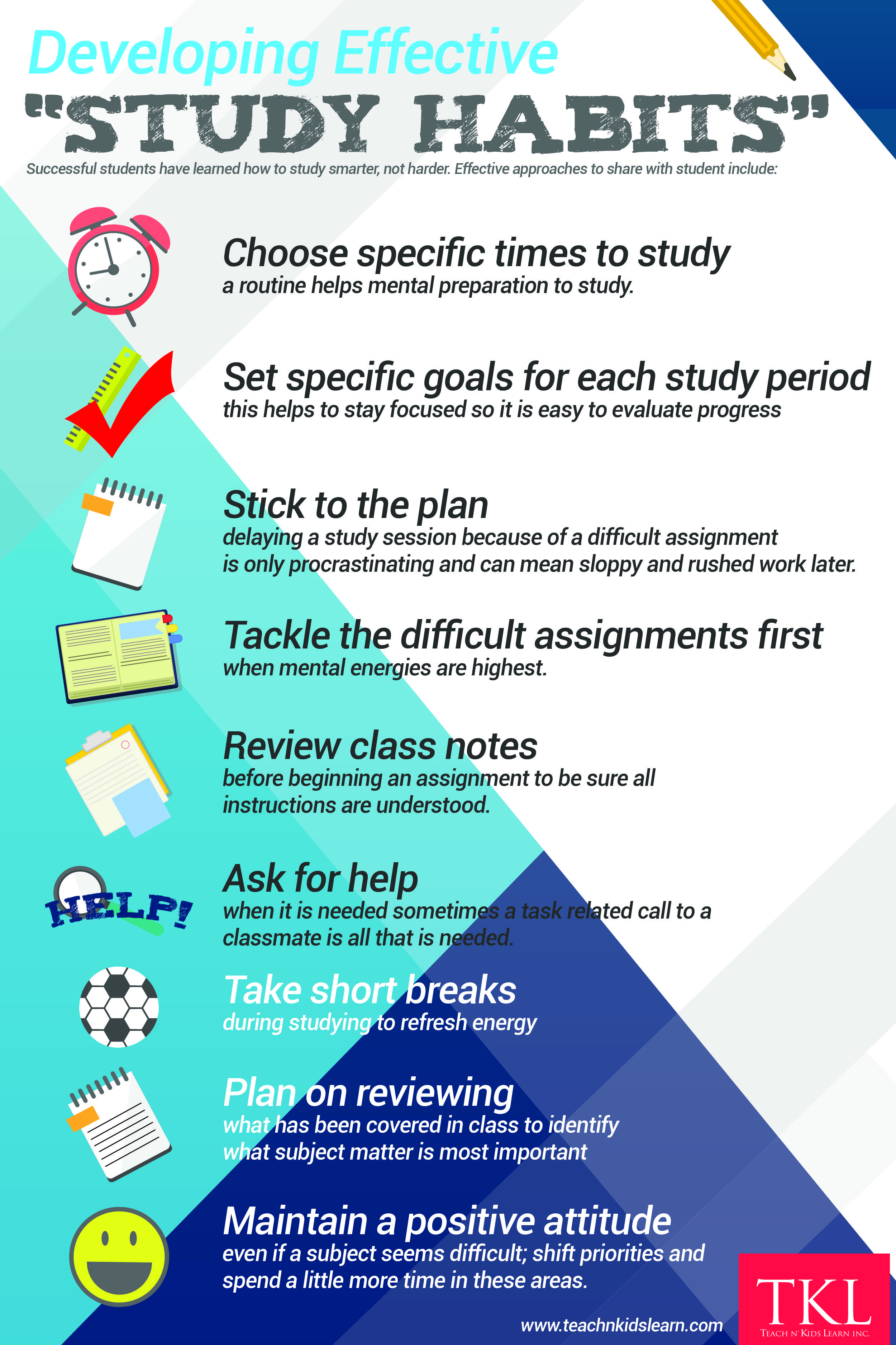 Developing Effective Student Study Habits With Images