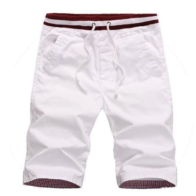 f140b30619a Naranjasabor Men's Summer Shorts New Homme Beach Slim Fit Shorts Male  Drawstring Pocket Elastic Joggers Men Short Trousers 4xl