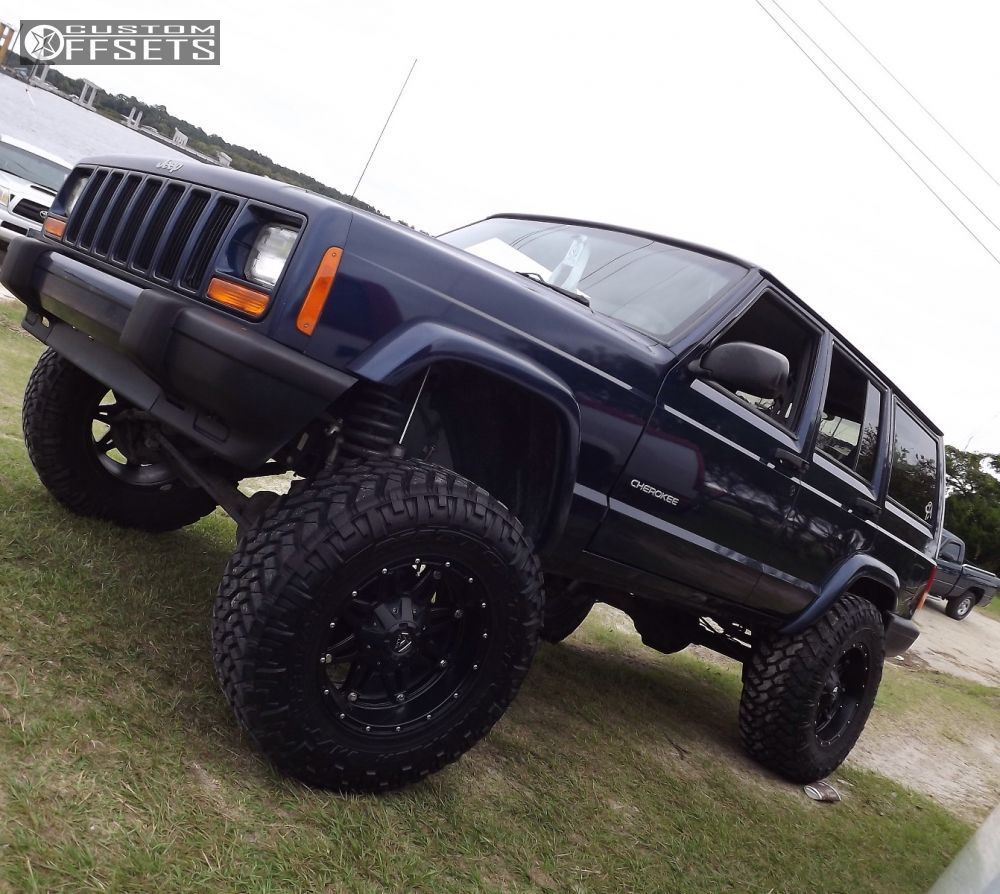 13 2000 Cherokee Jeep Suspension Lift 6 Fuel Hostage Black