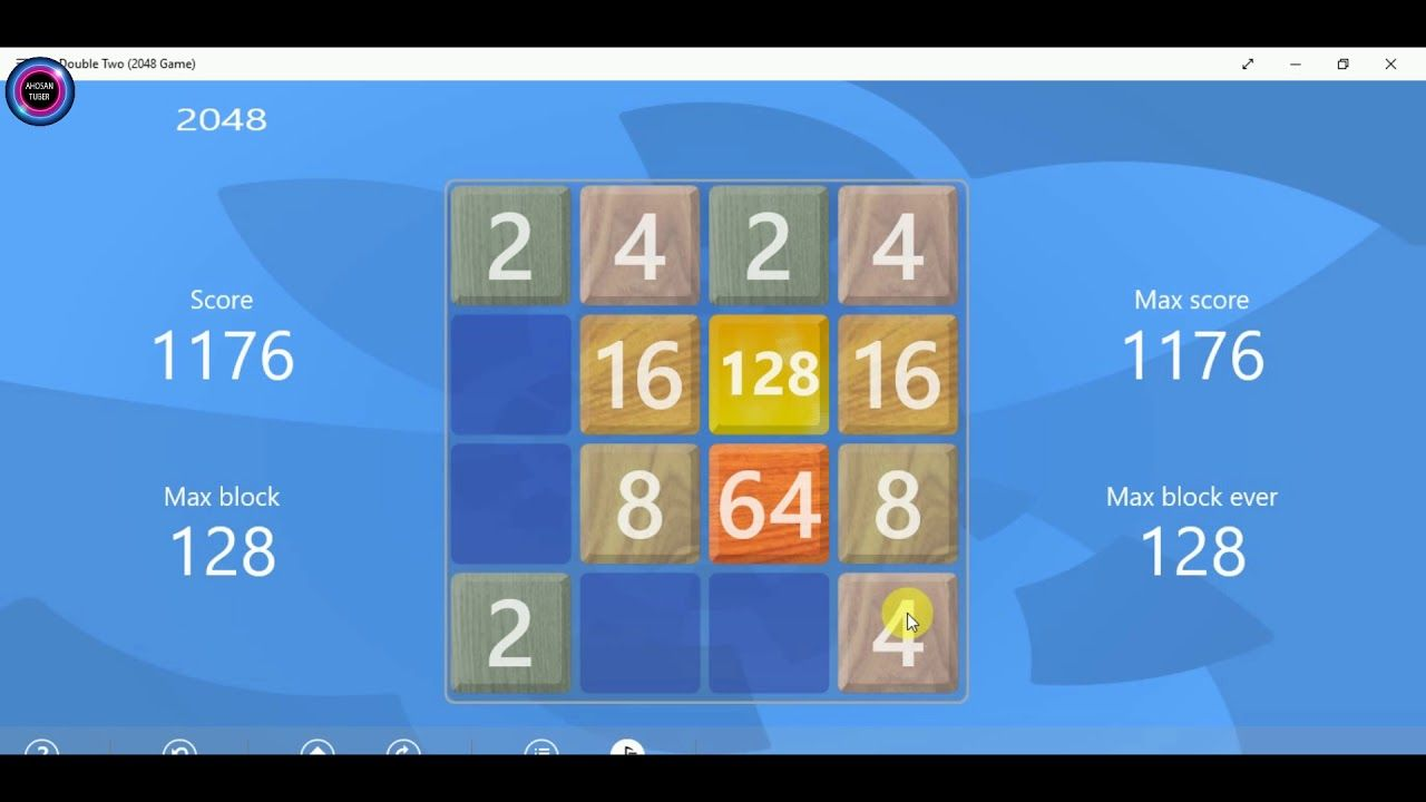 How To Beat 2048 Best Strategy Tips For Beating 2048 Game Tile 2019 2048 Game Games Games To Play