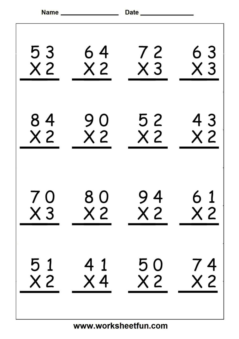 hight resolution of 5 th grade math coloring worksheets - Google Search in 2020   Multiplication  worksheets