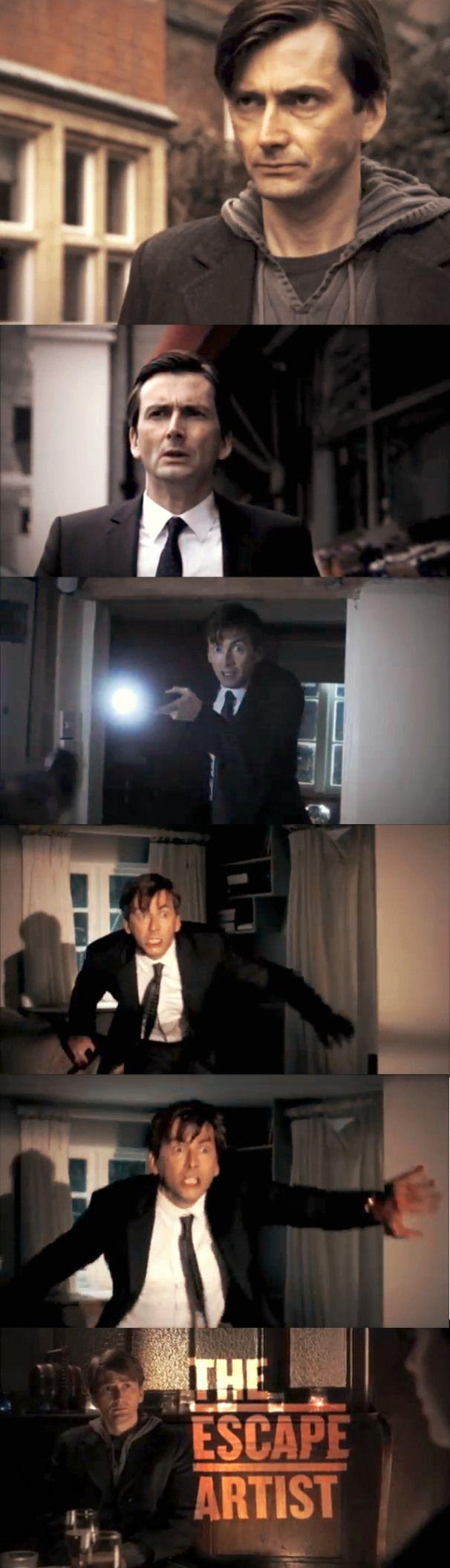The Escape Artist First pics of the NEW Original BBC