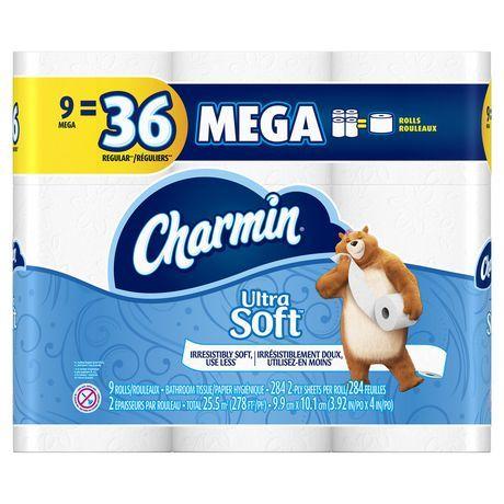 Charmin Ultra Soft Toilet Paper Bath Tissue Bathroom Tissue Washing Clothes