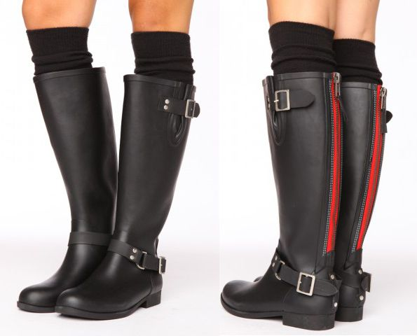 0070b4e18b72 Steve Madden Rain Boots - Because it s gonna rain this weekend in London...  Show Must Go On!