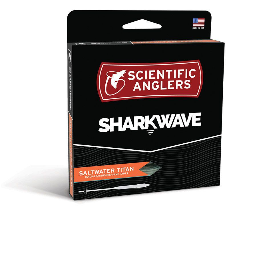 Fly Line Leaders and Tippets 23817: Scientific Anglers Sharkwave Saltwater Titan Wf8f -> BUY IT NOW ONLY: $46.95 on eBay!