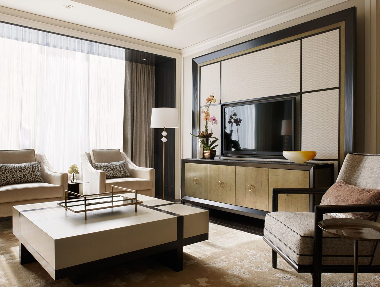 Suites At The Ritz Carlton  Munge Leunglove This Style Colours Inspiration Interior Design Photos Living Room Decorating Inspiration