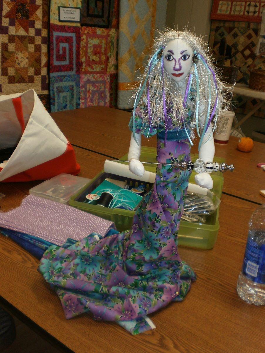 Inner Diva Alter Ego Art Doll Workshop At Fabric Garden In