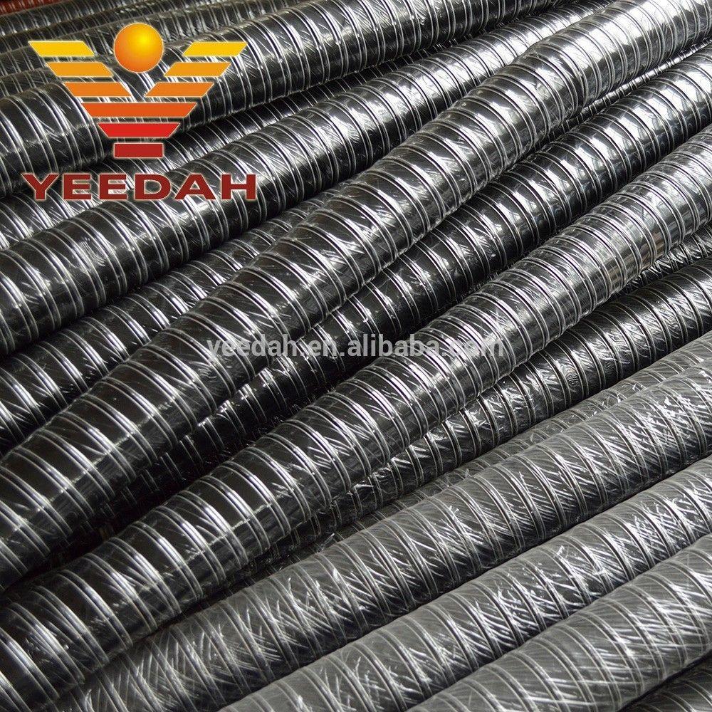 Neoprene rubber flexible air black hose 2 inch Neoprene