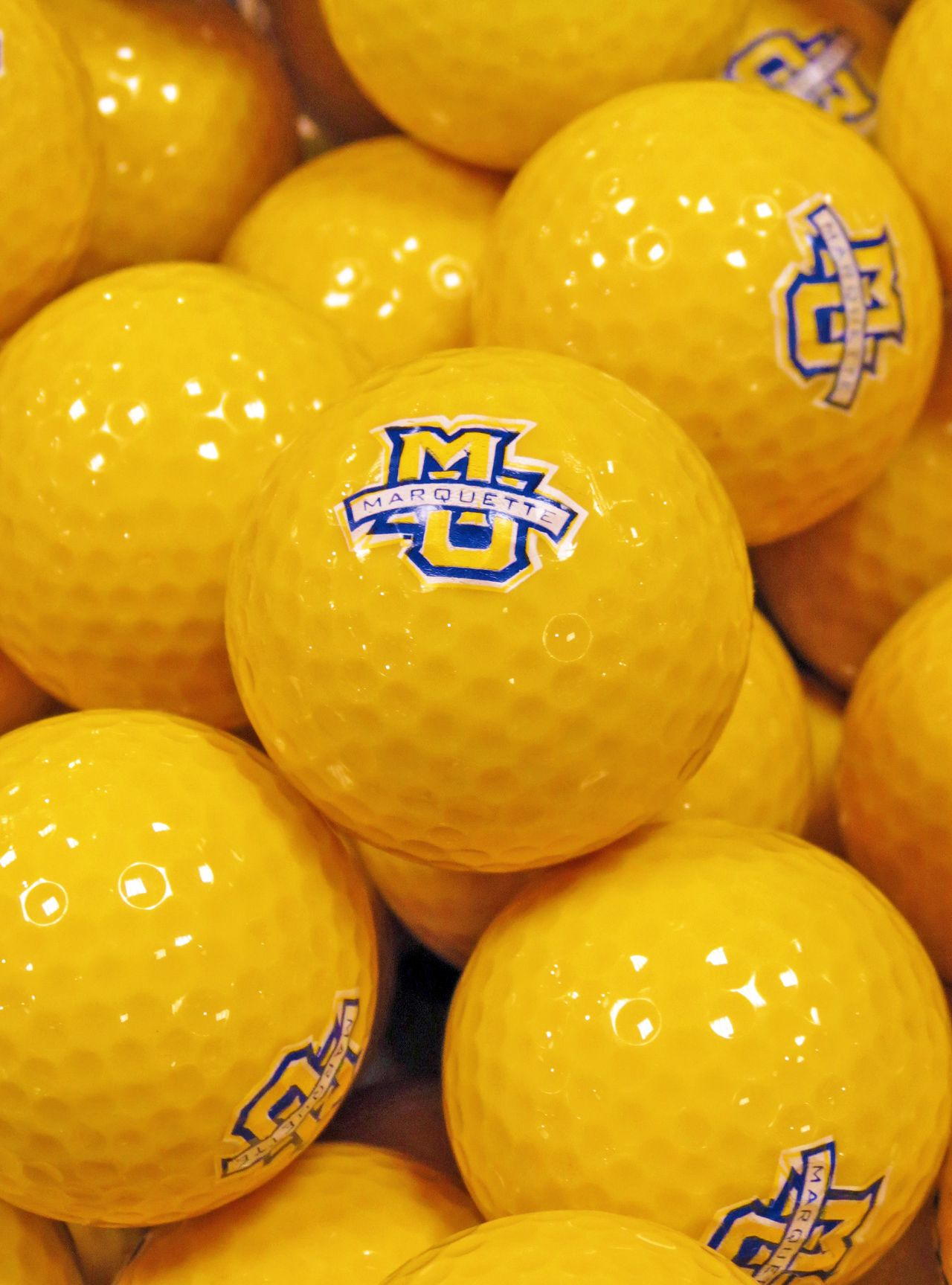 Get out the Marquette University golf balls for this great