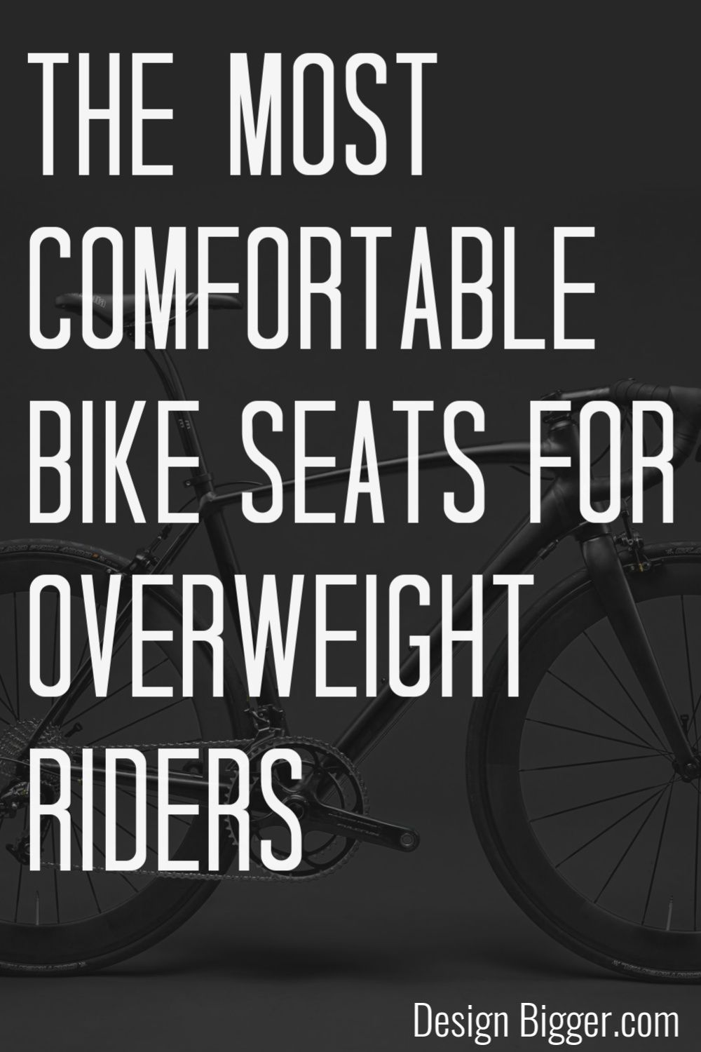 Most Comfortable Bike Seat For Overweight Riders 5 Options In