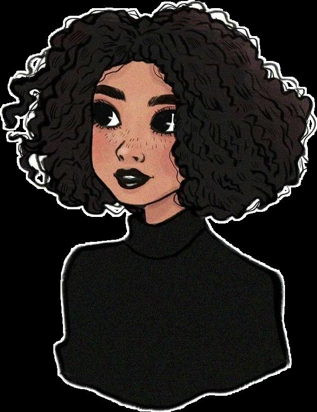 54 Curly hair cartoon ideas in 2021 | black girl art