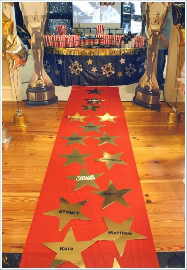Oscar Themed Party Decoration Ideas Part - 23: Ciao! Newport Beach: Oscar Party Entertaining Ideas · Hollywood Party  DecorationsMovie ...