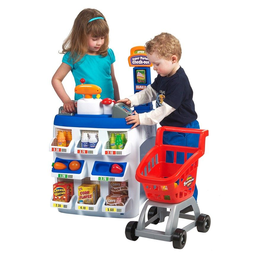 Deluxe Supermarket Checkout Smyths Toys 4 Year Old