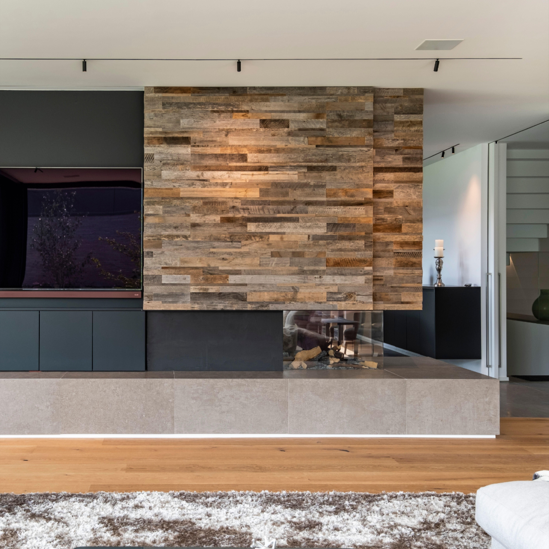 Gas Fireplace Wall Kalfire Gp85 50r In 2020 Woonkamer Modern