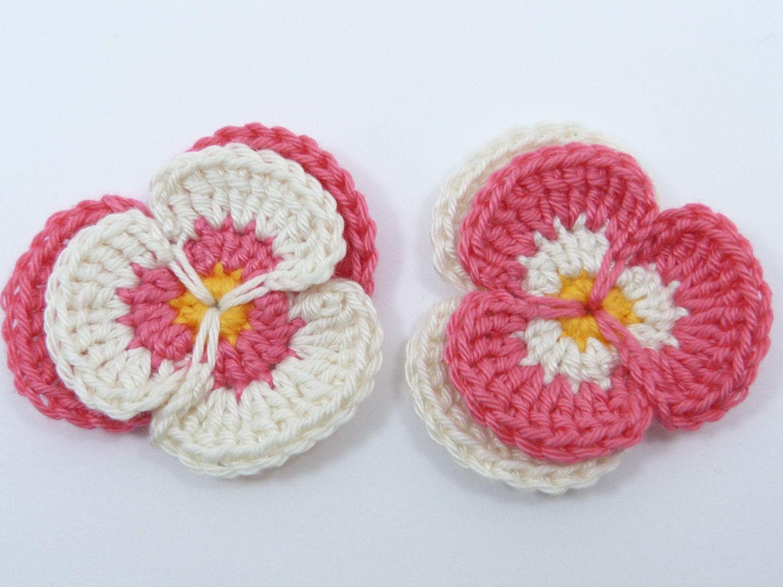 🍁 Flor de Crochê Receita Amor - Perfeito Pétalas -  /   🍁 Crocheted Flower Recipe Love - Perfect Petals -