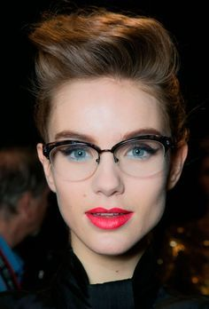 b75415e50c2 browline frame women glasses chloe - Google Search