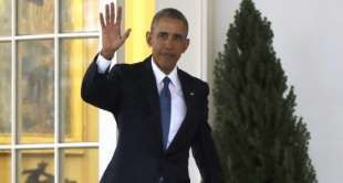 Le président barack obama quitte le bureau ovale à la maison blanche