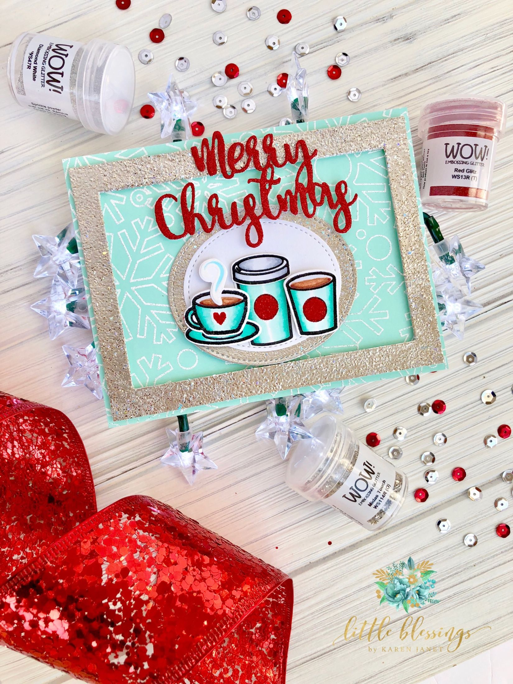 Photo of Fall – Winter Coffee Lovers Blog Hop   WOW Embossing Powder