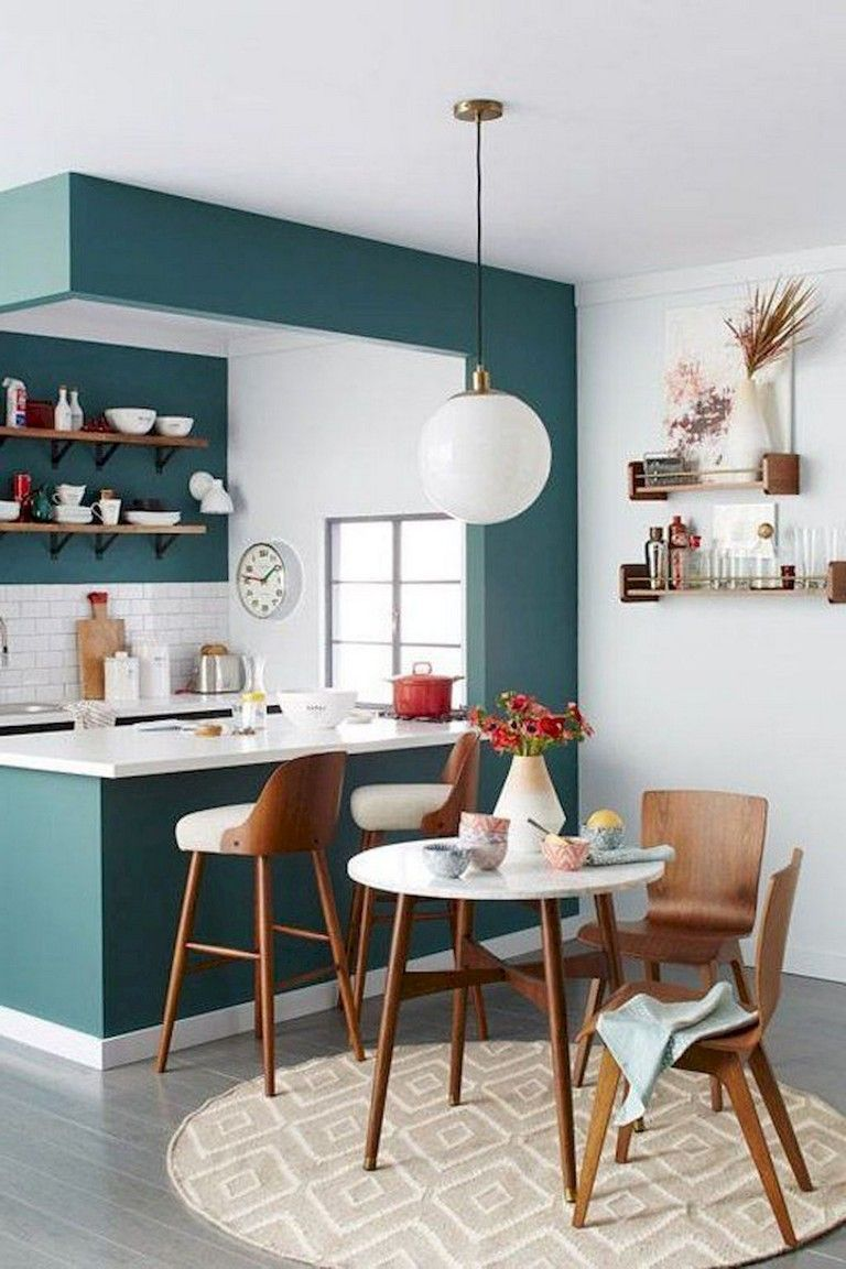 125 Inspiring Small Clean First Apartment Dining Room Ideas Apartmentgardening Kitchen Remodel