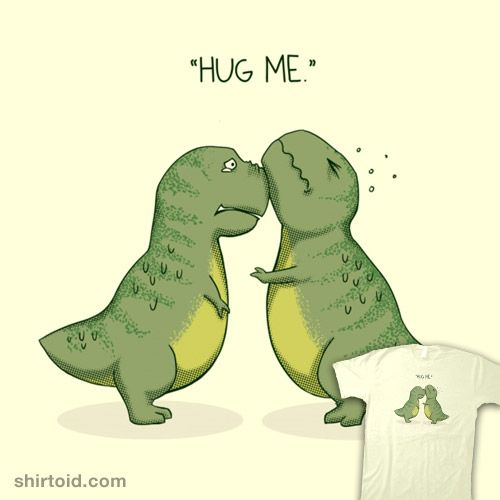 4887d9cedf98 Hug Me   Shirtoid #alanbao #dinosaur #hug #hugs #trex #tyrannosaurusrex