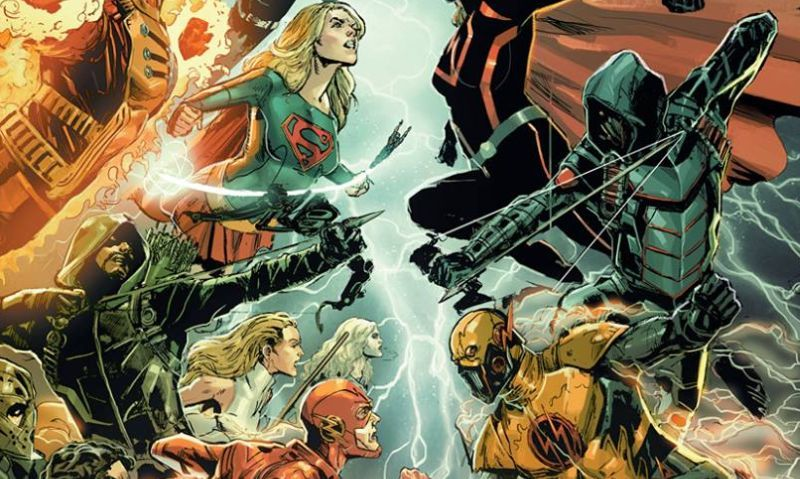Crisis On Earth X Cw Crossover Plot Description Released Online