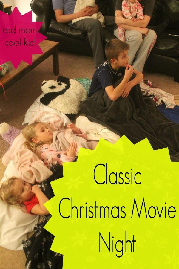 classic christmas movie night  radmomcoolkid.com for nodietsallowed.com #classicchristmasmovies #christmasmovies #christmastraditions