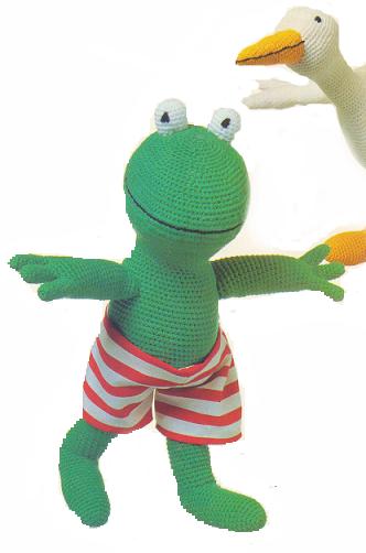 Kikker Eend Annemaries Crochet Blog Annemaries Haakblog
