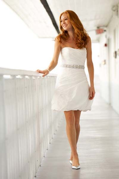 Casual-short-Wedding-Dresses | Casual Wedding Dress | Pinterest ...