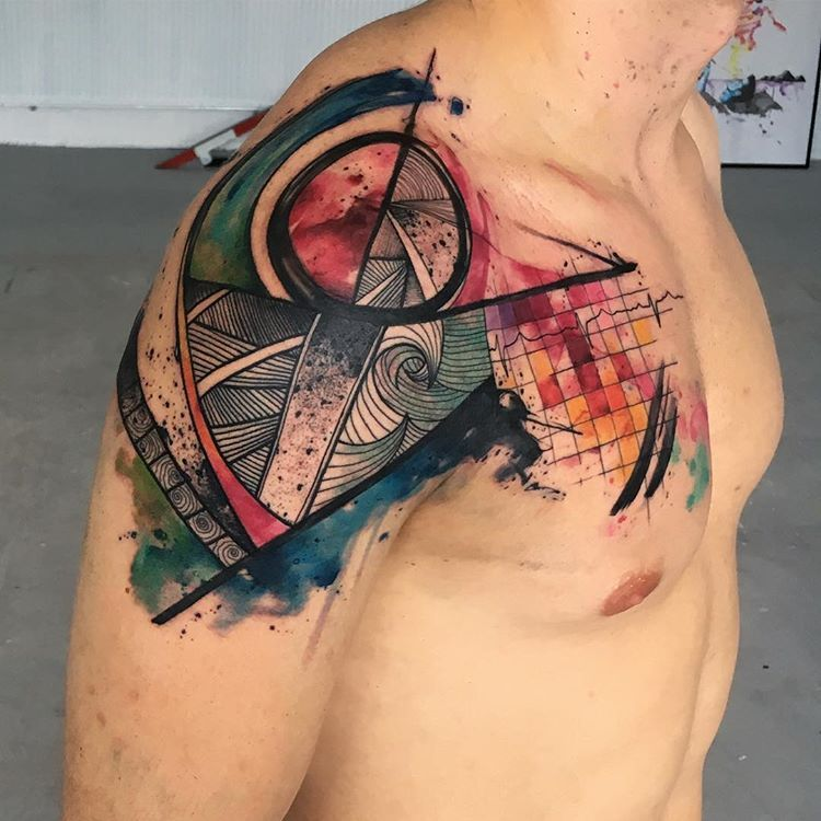 "Emrah de Lausbub en Instagram: ""Freehand abstract vs inspired by polinesian tattoo art"