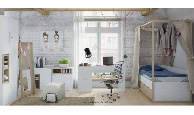 Lit A Baldaquin Ado 4 You Mobilier Enfant Haut De Gamme Design Vox